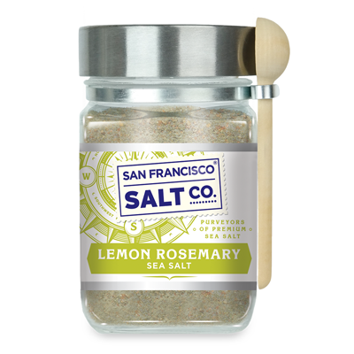 Lemon Rosemary Salt 8oz Chef's Jar