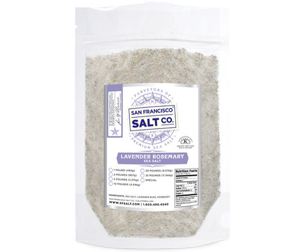 Lavender Rosemary Sea Salt - bulk