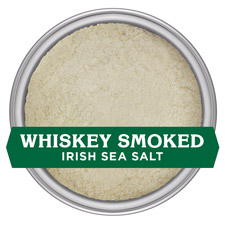 Whiskey Smoked Irish Sea Salt - FINE