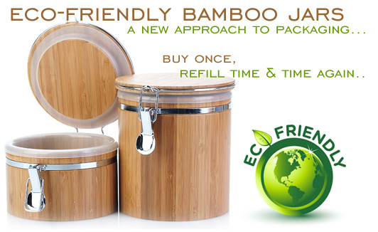 Bamboo Jars and Bamboo Containers San Francisco Salt Company