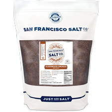 Smoked Alderwood Salt - 5lb Bag - Coarse Grain