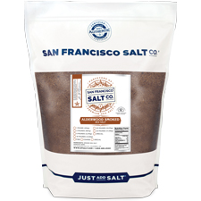 Smoked Alderwood Salt - 5lb Bag - Fine Grain