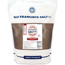 smoked cherry wood salt