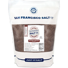 Smoked Hickorywood Salt - 5 lb Bag - Fine Grain