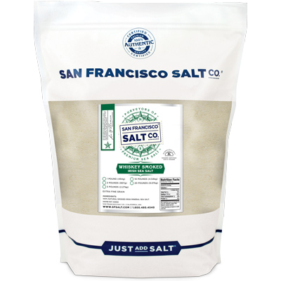 Whiskey Smoked Irish Salt - 2lb
