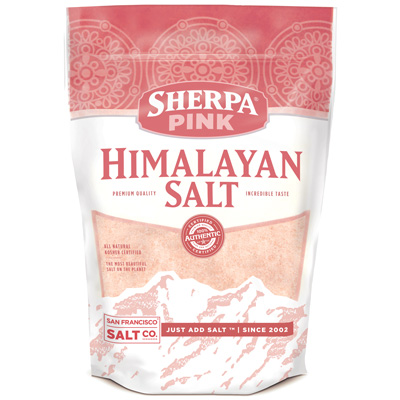 5lb Bag Powder Grain Himalayan Salt