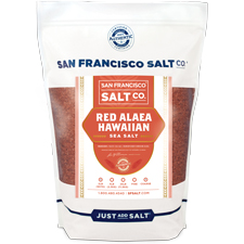 Coarse Grain Alaea Hawaiian Sea Salt - 2 lb Bag