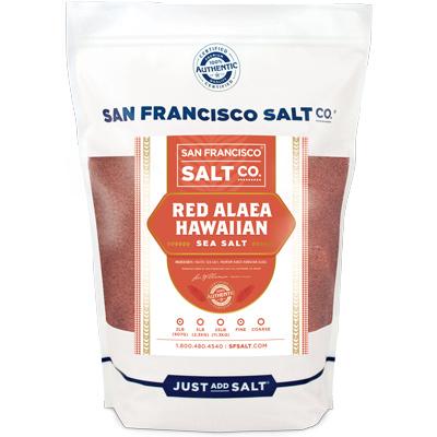Fine Grain Alaea Hawaiian Sea Salt - 2 lb Bag