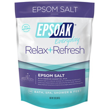 Epsoak Everyday Relax+Refresh Epsom Salt