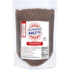 Smoked Applewood Sea Salt Coarse Grain 10lbs