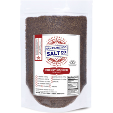 Smoked Cherrywood Salt - Coarse - 10lb Bag | SF Salt Co.