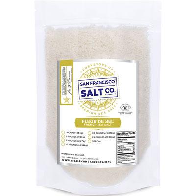 Fleur de Sel Gourmet Salt- 10 lb Bag