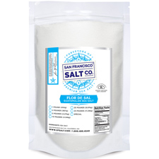Flor De Sal Sea Salt - 10lb | San Francisco Salt Co.