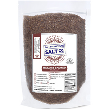 Smoked Hickorywood Sea Salt 10lbs Coarse Grain
