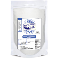 Coarse Grain Mediterranean Sea Salt - 10 lb Bag