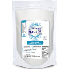 Fine Grain Pacific Ocean Gourmet Salt - 10lb Value Pack