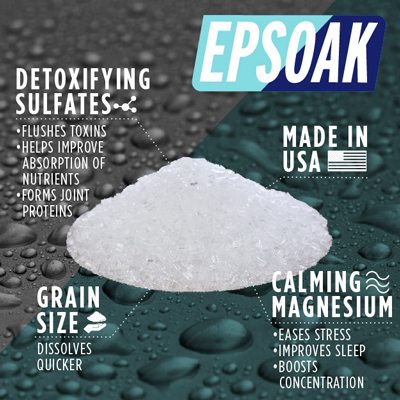 Benefits of Soaking In Epsom Salt