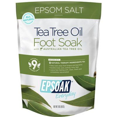 Epsom Salt Tea Tree Oil Foot Soak