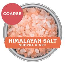 Sherpa Pink Himalayan Salt -Coarse
