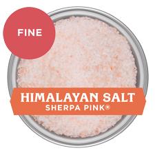 Sherpa Pink Himalayan Salt - Fine