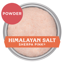 Sherpa Pink Himalayan Salt Powder