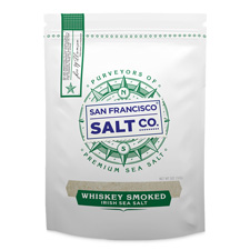 Whiskey Smoked Irish Salt - 5oz Bag - Gourmet Salt
