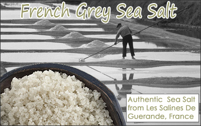 French Grey Sea Bath Salt - Course Grain
