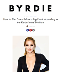 Slim Down Before Big Event