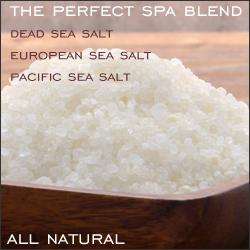 Natural WorldSpa Sea Salt Bath Blend - 20 lbs