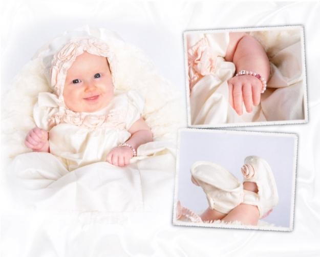 baby baptism christening bracelet