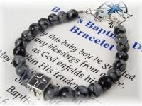 Baby Boy Baptism Christening Bracelet
