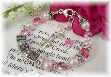 6abfb74e0 Personalized Religious Jewelry, Baby Jewelry, Baptism, Christening,  Childrens Jewelry, First Communion, Confirmation, Rosaries
