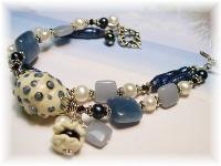 Lampwork Bracelet Ocean Theme