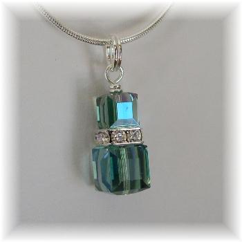 Swarovski Erinite Crystal Pendant