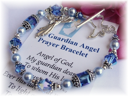 Guardian Angel Prayer Bracelet