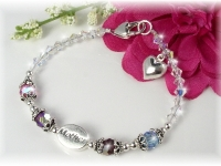 Mother Birthstone Bracelet Swarovski Crystal