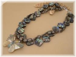 Abalone necklace