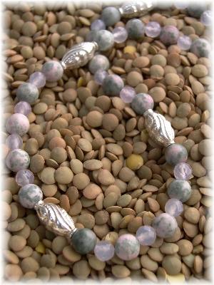 Lapis Nevada and Rose Quartz Necklace