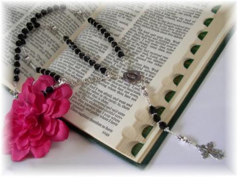 Womens Rosary Necklace