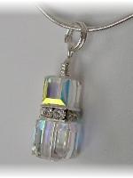 Swarovski AB Crystal Pendant
