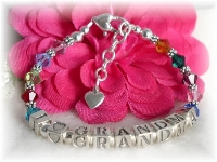 Swarovski Birthstone Grandma bracelet