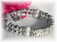 Mother Bracelet Silver Stardust