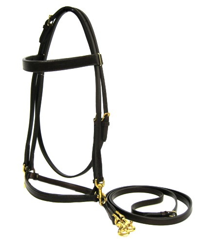 Perfection Walking Horse Deluxe Quick Change Work Bridle (556400)
