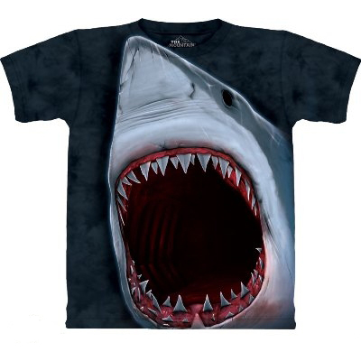 Shark T Shirts - The Mountain T Shirts - Head Space Stores