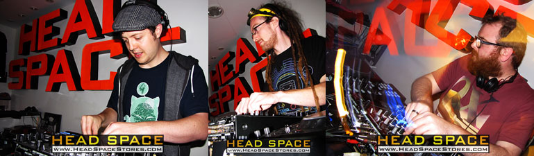 Live DJ Sets - Head Space Stores