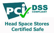 Head Space Stores PCI DSS Compliant