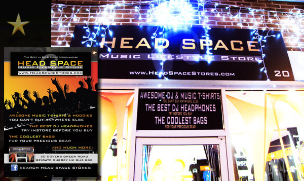 Head Space Music Lifestyle Store Reigate Surrey UK