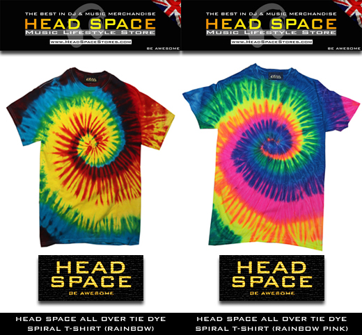 DJ and Music T Shirts - Head Space Music and DJ T Shirts - Head Space Stores