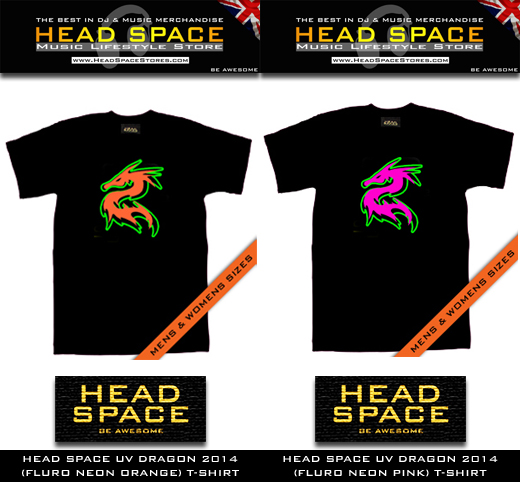 Music and DJ T Shirts - Head Space Music and DJ T Shirts