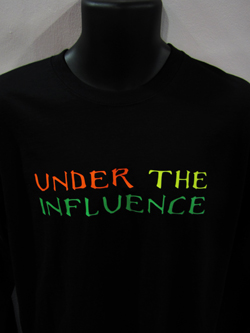 DJ T Shirts - Head Space T Shirts - Under The Influence T Shirts